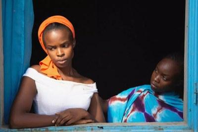 « Lingui, les liens sacrés », film de Mahamat-Saleh Haroun (Tchad), en lice pour la Palme d'or au Festival de Cannes 2021.