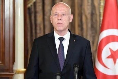 Kaies Saied, président tunisien